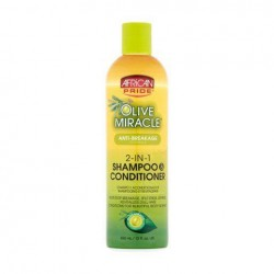 Olive Miracle 2-in-1 Shampoo and Conditioner