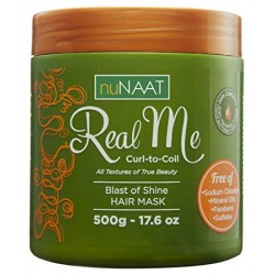 NuNaat Real Me Curl to Coil Blast of Shine Hair Mask