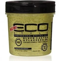 Eco Black Castor & Flaxseed oil 16oz