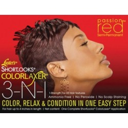 Shortlooks Color Relaxer- Red