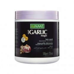 Garlic Magic Hair Mask